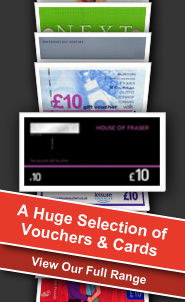 A Huge Selection of Vouchers & Cards range of our products