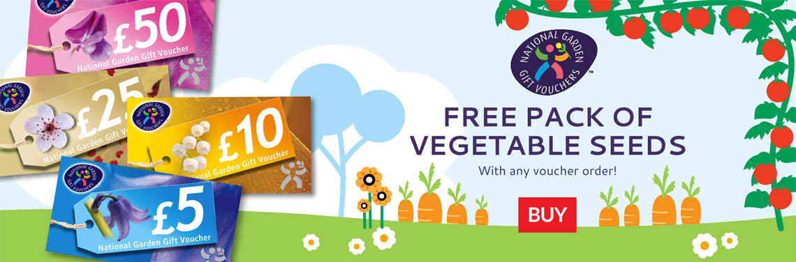 Free Seed Pack with National Gardens
