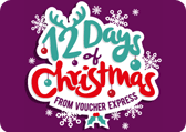 12 Days of Christmas calendar countdown logo