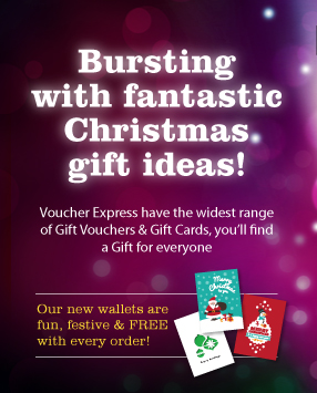 Christmas Bestsellers from Voucher Express