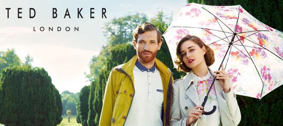 Продукция Ted Baker — простота и шарм в стиле