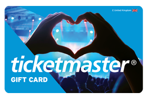 Treat her to the latest comedy show, concert of musical with a Ticketmaster Gift Card
