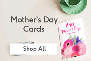Personalised Mothers Day cards from Moonpig