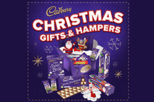 Cadbury Christmas Gift Hampers to share