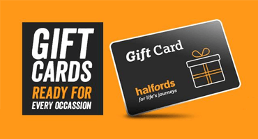 Halfords eGift Cards