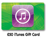 £50 iTunes gift card