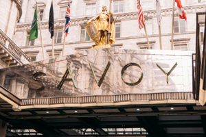 Three Course lunch with champagne for two at Gordon Ramsays Savoy Grill