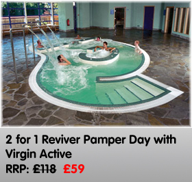 2 for 1 Reviver Pamper Day