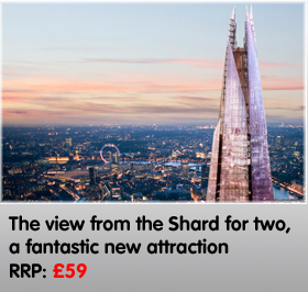 A View from the Shard for Two