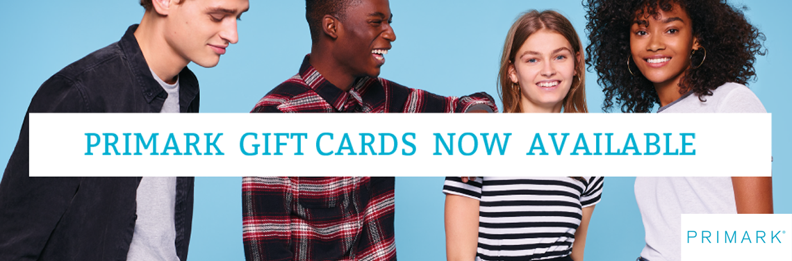Primark gift cards on Voucher Express