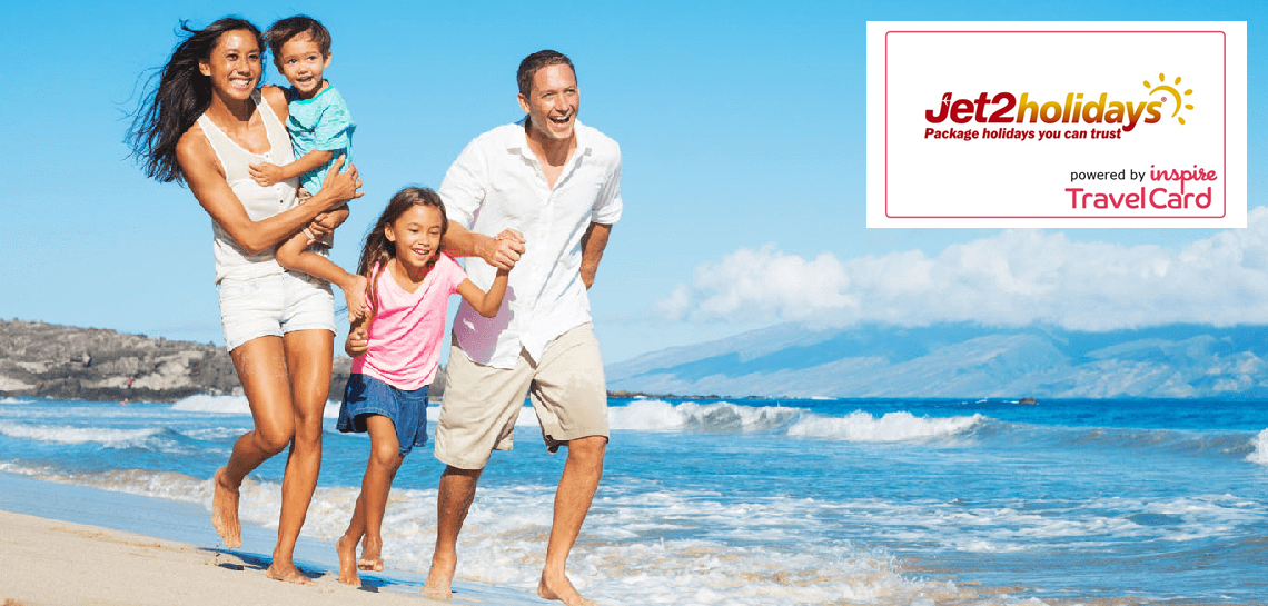 Jet2holidays powered by Inspire TravelCard