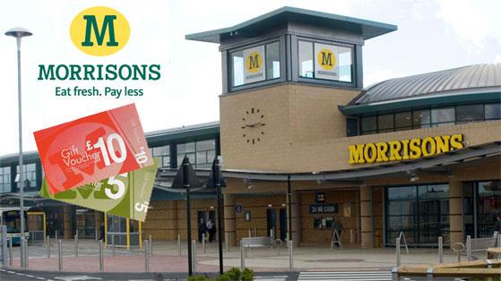 Morrisons Gift Vouchers