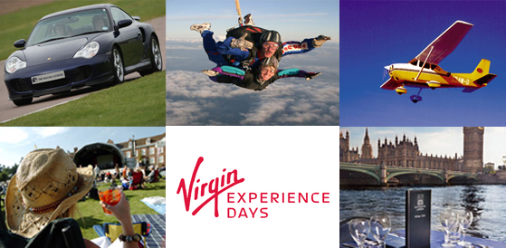 Virgin Experience Days Gift Cards