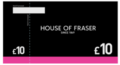 House of Fraser Gift Vouchers