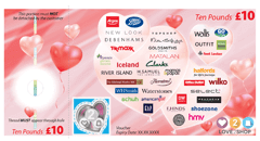Peacocks Gift Vouchers Powered By Love2shop