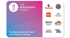 Restaurant Choice Gift Cards