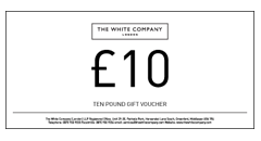 The White Company Gift Vouchers